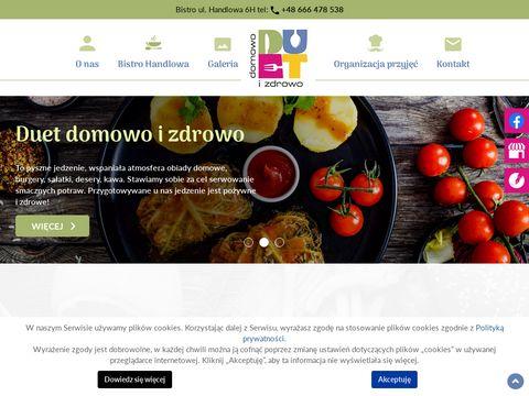 Duet-domowoizdrowo.pl catering dla firm