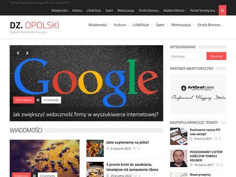Dziennikopolski.pl portal informacyjny z Opola