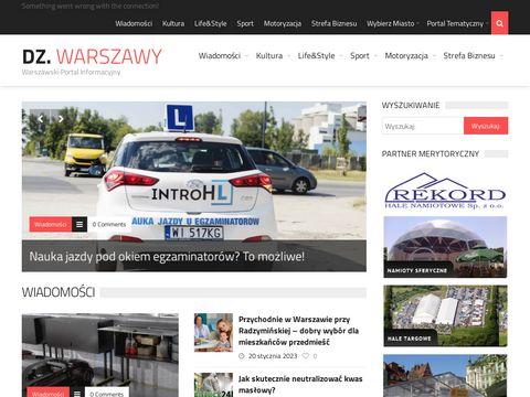 Dziennikwarszawy.pl warszawski portal informacyjny