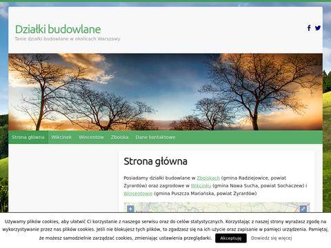 Dzialki24.com.pl tanie nieruchomości budowlane