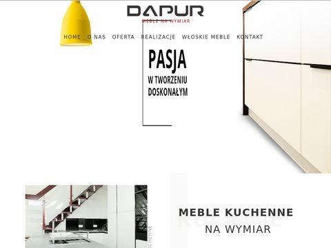 Dapur.pl meble na wymiar Gorzów