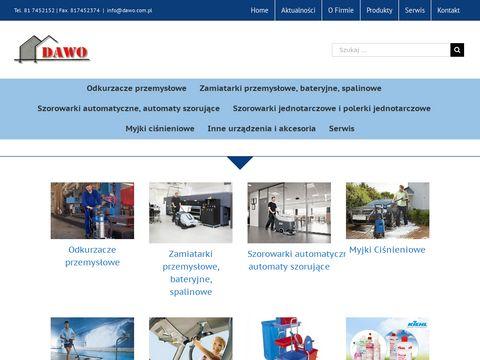 Dawo.com.pl czyszczące urządzenia przemysłowe