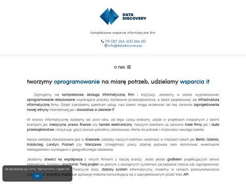 Datadiscovery.pl Programy na zamówienie