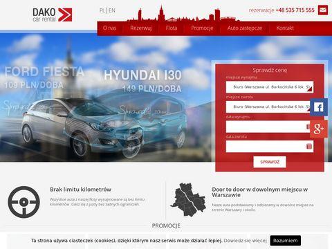 Dakocar.pl auto zastępcze