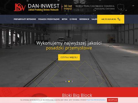 Dan-Inwest sp. z o. o. - płyty chodnikowe