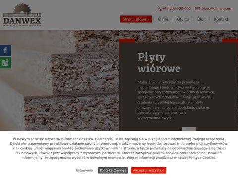 Danwex.eu płyta stolarska Poznań