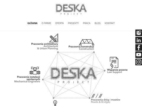 Deskaproject.com biuro projektów przemysłowych