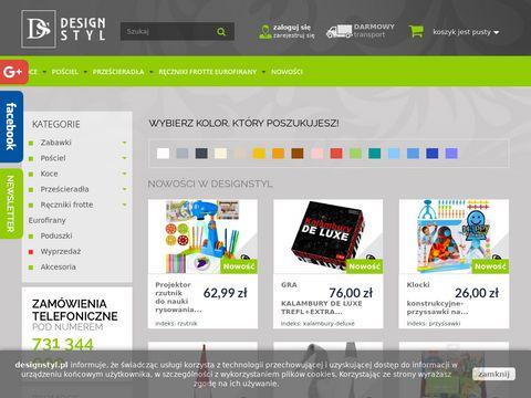 DesignStyl prześcieradła z satyny bawełnianej