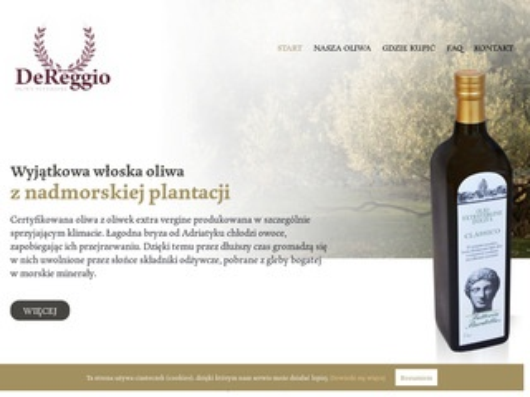 DeReggio oliwy z oliwek klasy superiore
