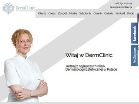 Dermclinic.pl - zamykanie naczynek