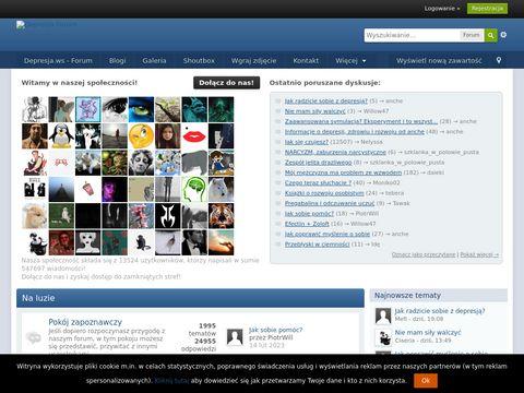 Depresja.ws - forum o depresji