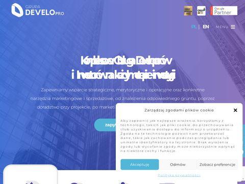 Developro.pl crm dla deweloperów