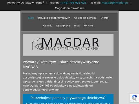 Magdar - prywatny detektyw