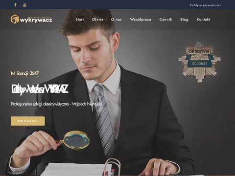 Detektywwarszawa.com.pl biuro Wykrywacz