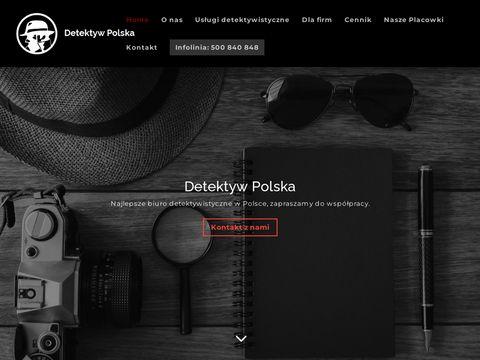 Detektywpolska.pl prywatny detektyw Warszawa