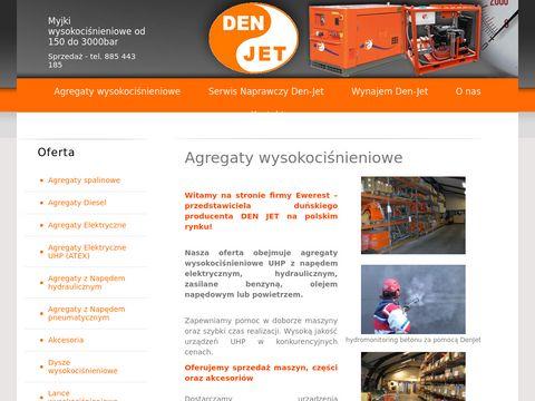 Den-jet.pl - pompy wysokociśnieniowe