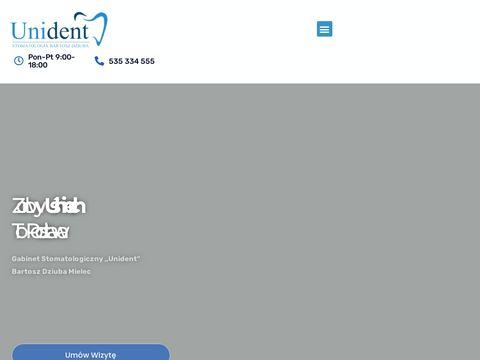 Dentystamielec.com.pl protezy i implanty, stomatolog