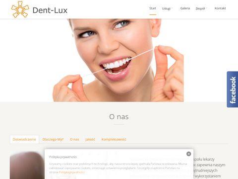 Dentlux.com.pl gabinet stomatologiczny
