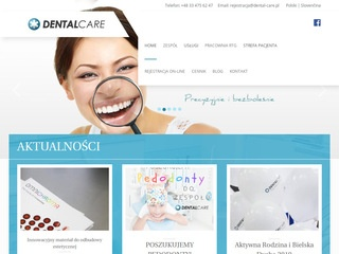 Dental-care.pl Bielsko dbamy o twój uśmiech