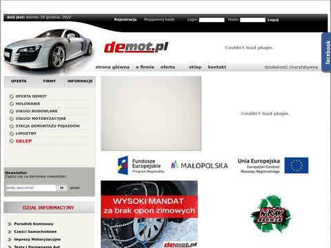 Demot.pl części samochodowe
