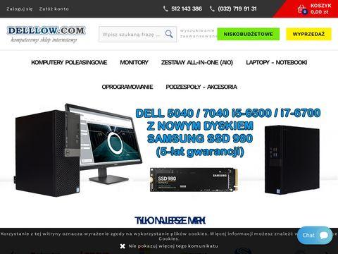 Delllow.com komputery używane