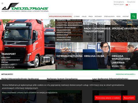 DeltaTrans - logistyka magazynowa
