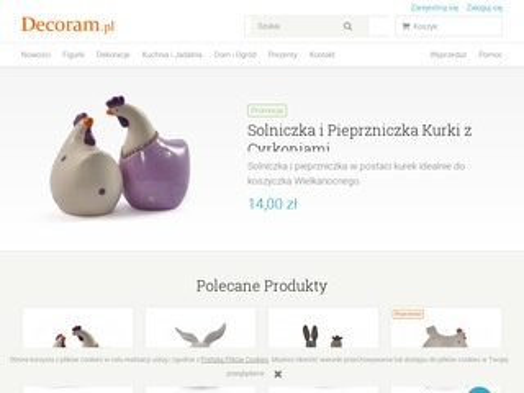 Decoram.pl prezenty, dekoracje i wyposażenie wnętrz