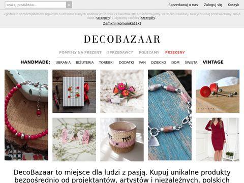 Decobazaar.com sklep handmade