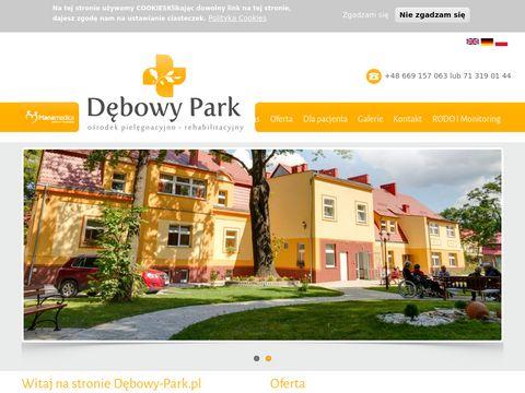 Debowy-park.pl rehabilitacja osób starszych