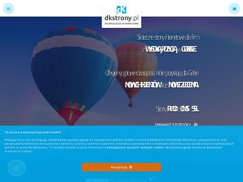 Dkstrony.pl - projektowanie stron www