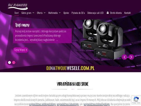 Djnatwojewesele.com.pl - DJ Ramzes
