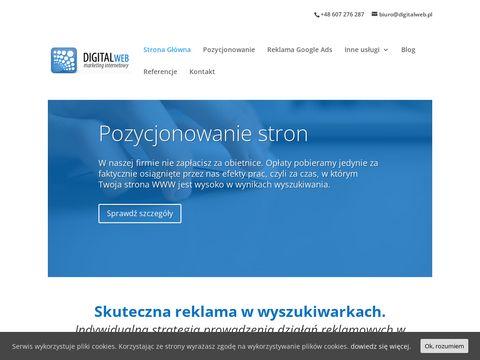 Digitalweb.pl agencja reklamowa