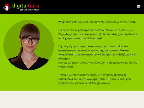 Digital Guru - tworzenie stron Łódź