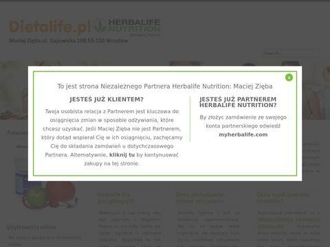 Dietalife.pl - produkty Herbalife, sklep online