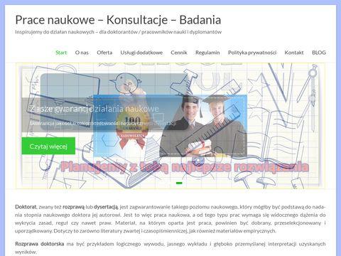 Doktoraty.pl - pisanie doktoratów