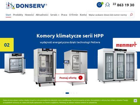 Donserv.pl - meble laboratoryjne