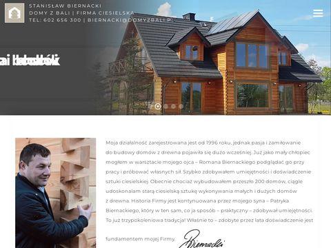 Domyzbali.pl - domy z drewna
