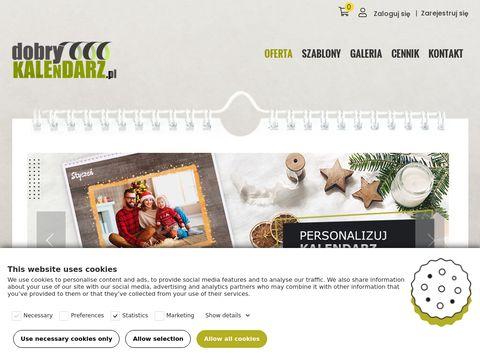 Dobrykalendarz.pl fotokalendarze przez internet