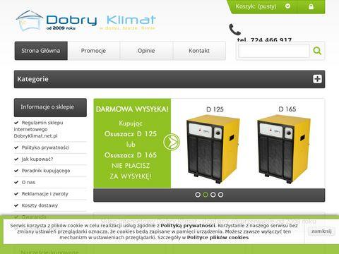 Dobryklimat.net.pl - oczyszczacze i nawilżacze