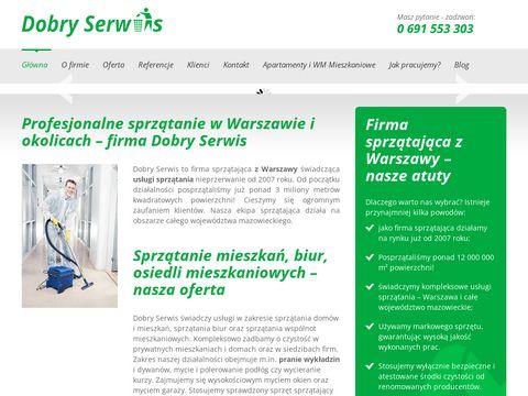 Dobry Serwis firma sprzątająca Warszawa