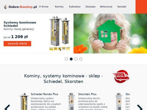 Dobre-kominy.pl - systemy kominowe