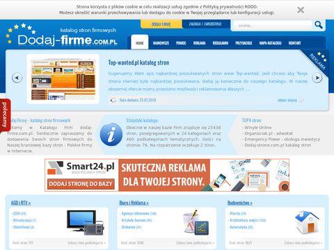 Dodaj-firme.com.pl promocja firm w Internecie