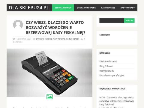 Dla-sklepu24.pl - kasa czy drukarka fiskalna