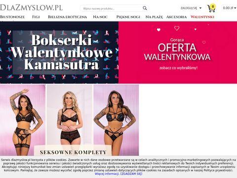 Bielizna damska sklep internetowy dlazmyslow.pl