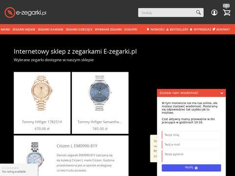 E-zegarki.pl Tommy Hilfiger