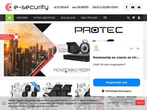 System monitoringu w E-Security