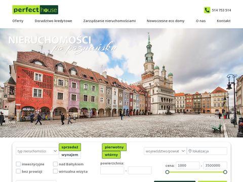 E-perfecthouse.pl - nieruchomości Poznań