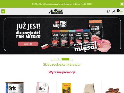 E-pazur.com sklep zoologiczny Białystok