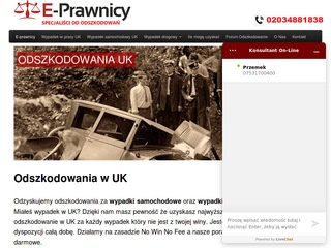 E-prawnicy.co.uk odszkodowanie
