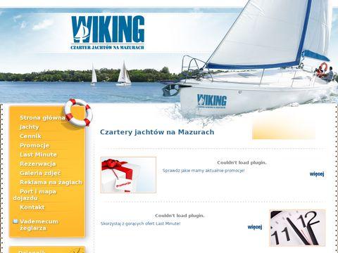 E-wiking.com.pl czarter jachtów